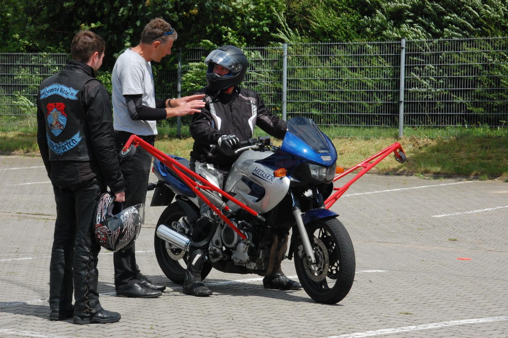 Motorrad-Sicherheitstraining-Schraeglagentraining-Buxtehude-003